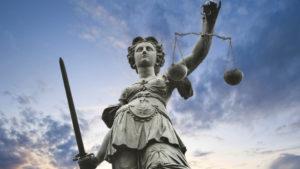 Immagine simbolica della Giustizia